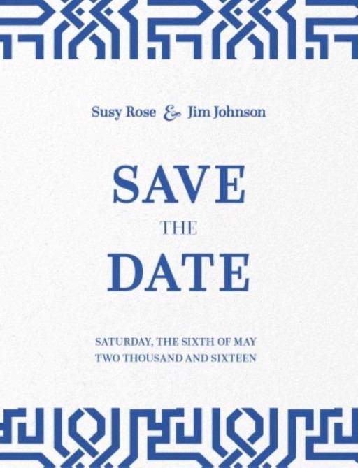 The Moorish - Save the Date