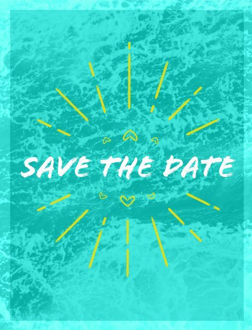 Aqua Waves - Save The Date