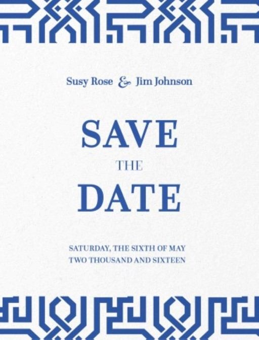 The Moorish - Save the Date