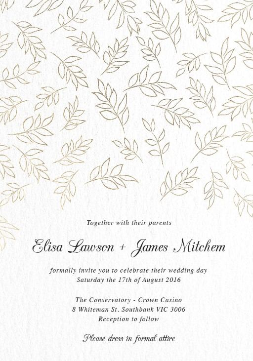 Formal Wedding Invitations Wedding Invites  Cards