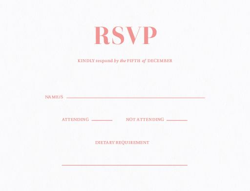 Moon Bounce - RSVP Cards