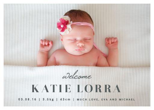 Hello Sunshine - baby announcements