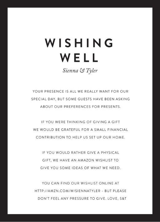 Minimal - Wishing Well