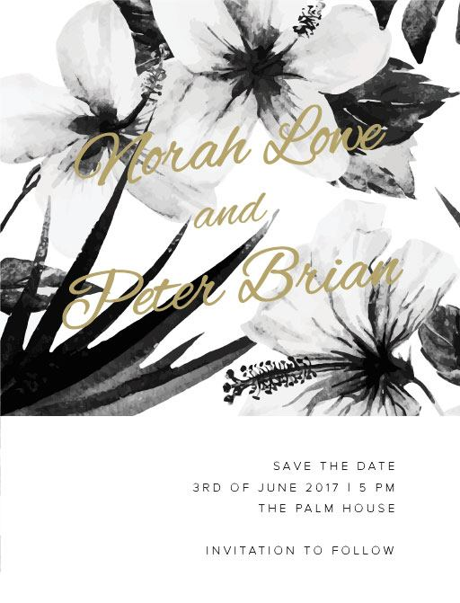 Hibiscus - Save The Date