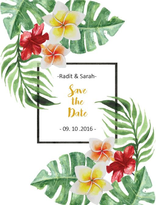 Simply Tropics - Save The Date