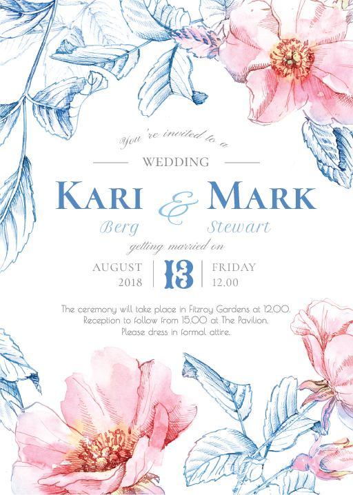 Briar - Invitations