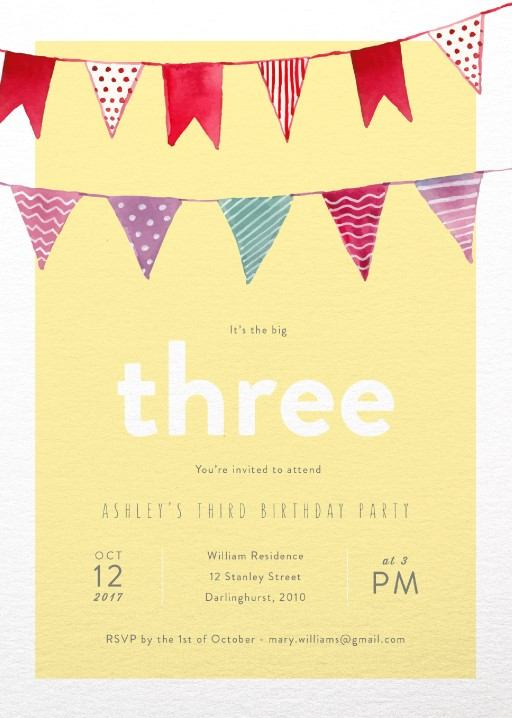 Birthday Invitations By Australian Creatives