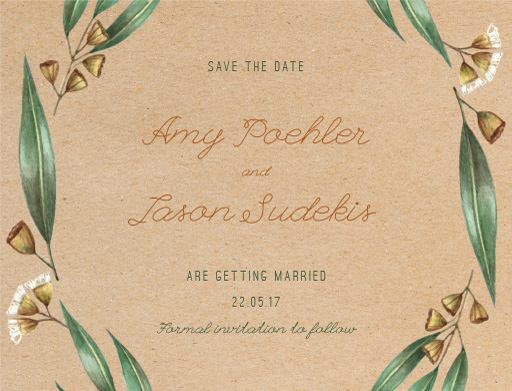 Under the Eucalyptus - Save The Date