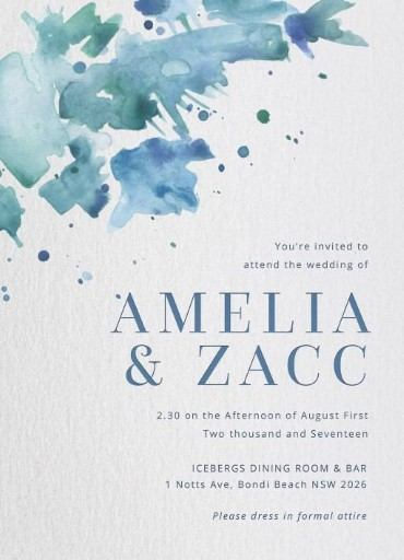 beach wedding invitations designs by creatives printed by paperlust