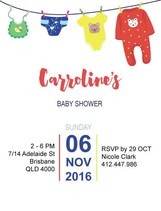 Joyful - Baby Shower Invitations
