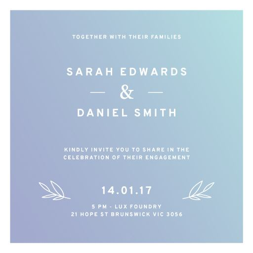 Simply Modern - Invitations