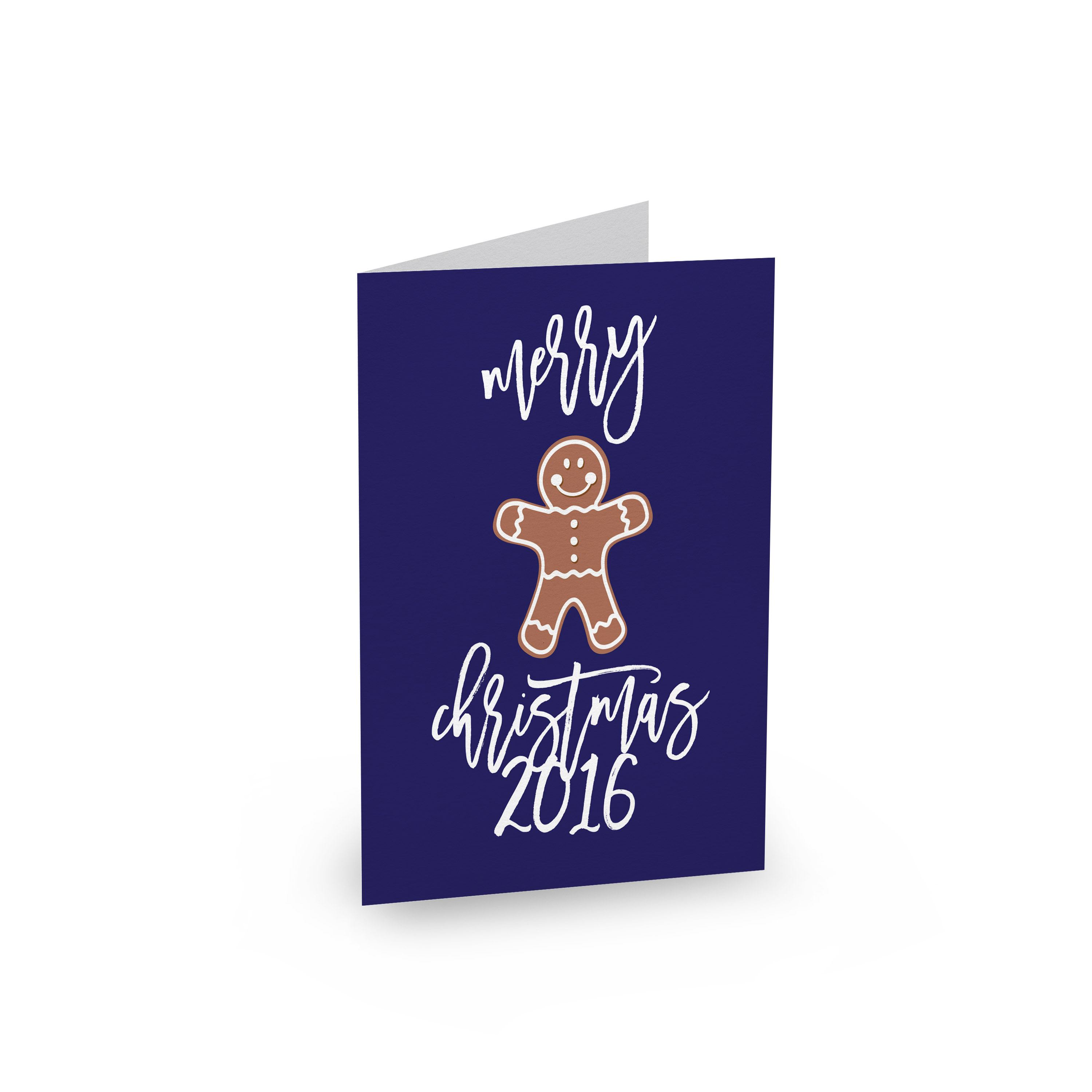 Gingerbread Cookies Type 1 - christmas cards