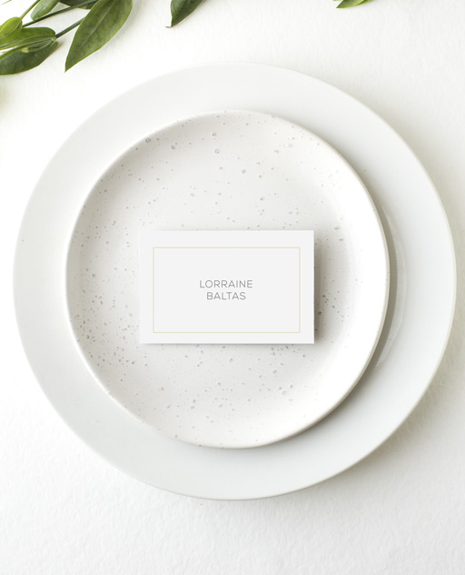Diamond Love - Place Card