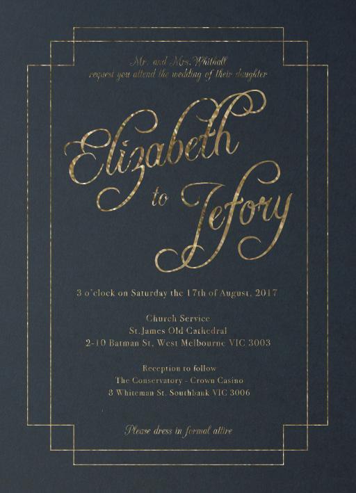 Elegance - Invitations