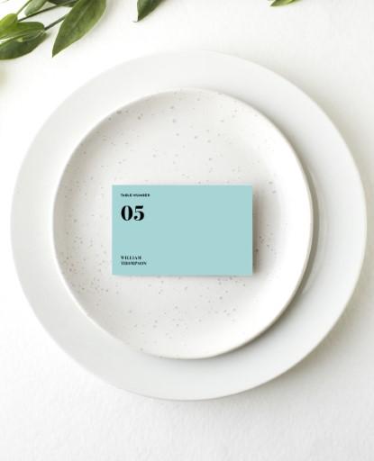 Pastel Pantone - Place Card