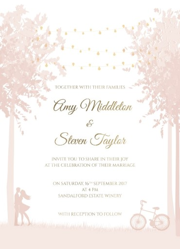 Enchanted Garden - Invitations