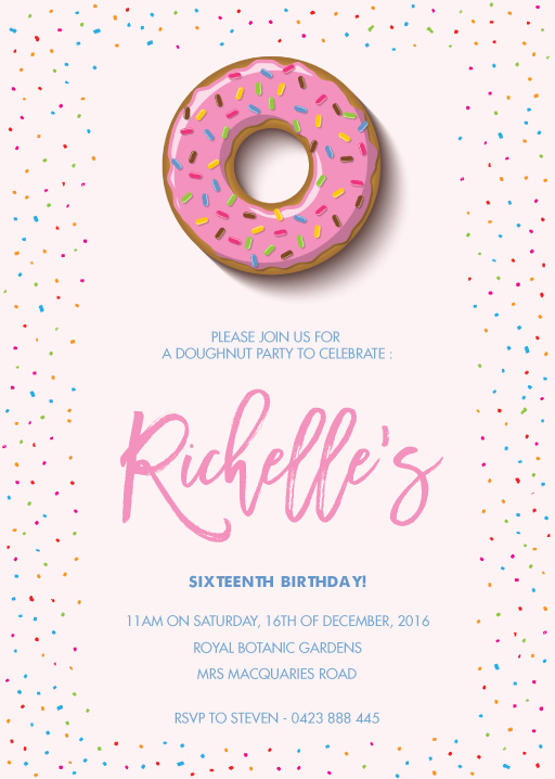 16th birthday invitations designed by creatives printed by paperlust