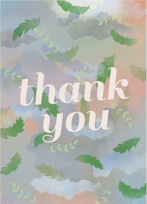 Dreamy - Thank You Card