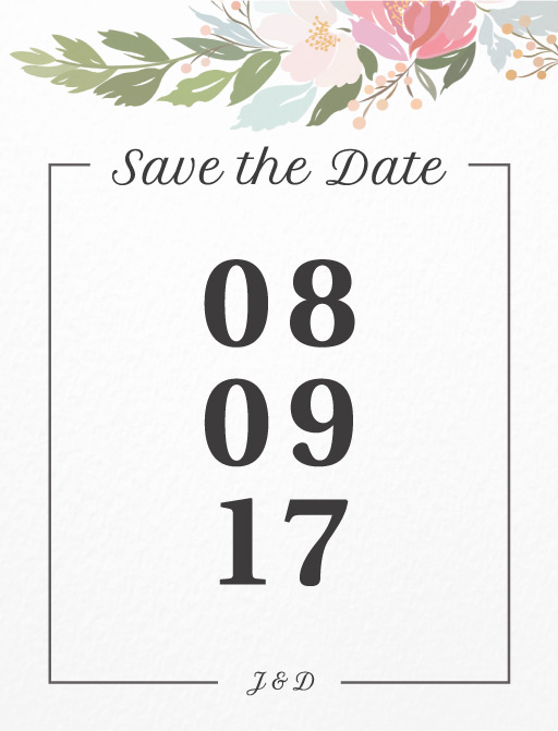 Liebe Vogel - Save The Date