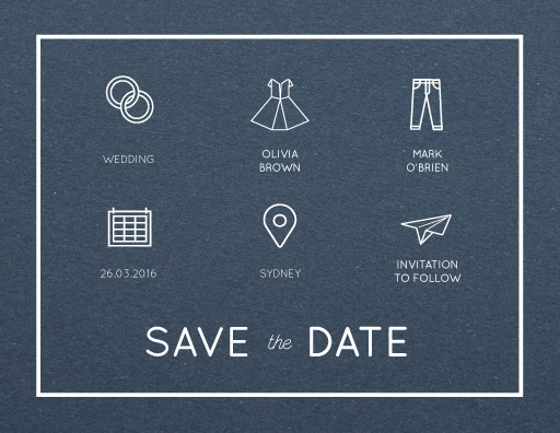 Modern - Save The Date