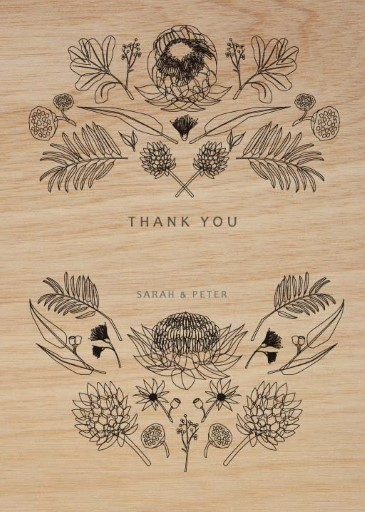 Australian Native Colour - Thank You Cards