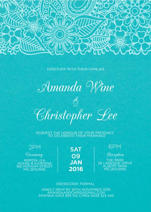 Batik Bagus - Invitations