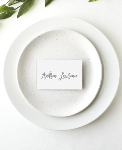 Simply Carefree - Place Card