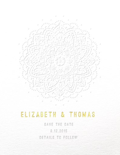 Elegant Collection - Save The Date