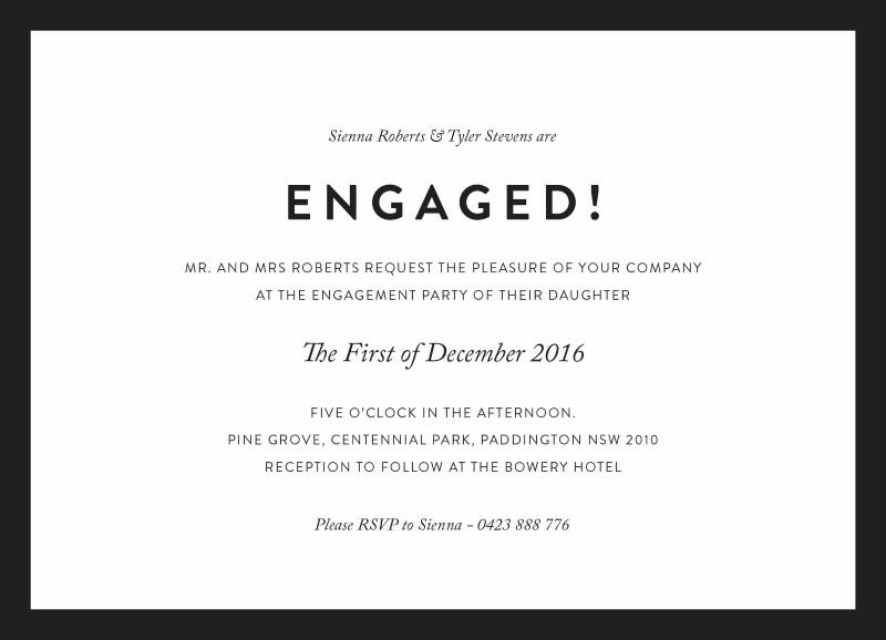 Engagement Party Invitations – Engagement Party Invites Australia