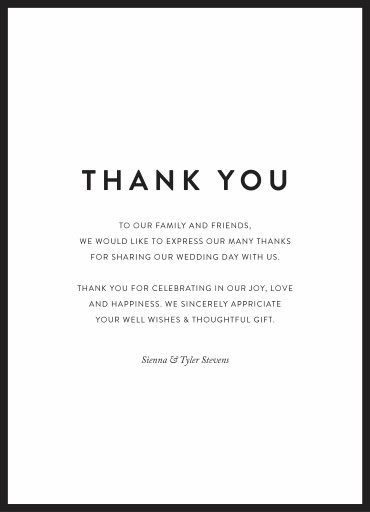 Minimal - Thank You Cards