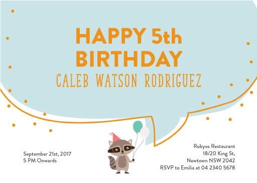 Funny birthday invitations designs by creatives printed by paperlust birthday fox birthday invitations solutioingenieria Gallery