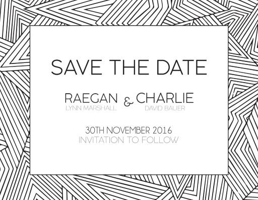 Lines - Save the Date