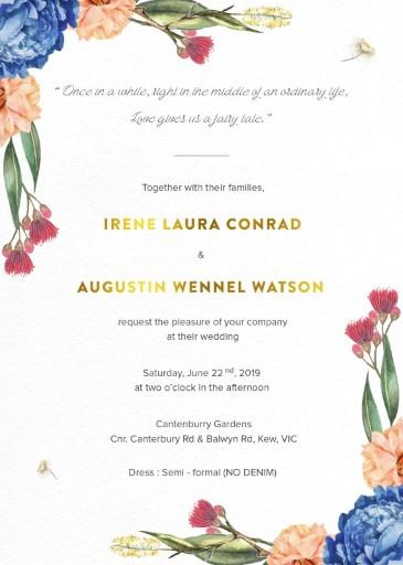 Garden Party - Invitations