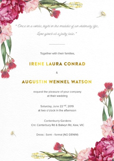 floral wedding invitations wedding invites cards