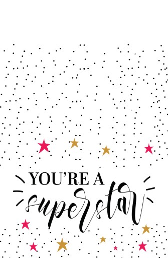 Youre superstar - Greeting Cards