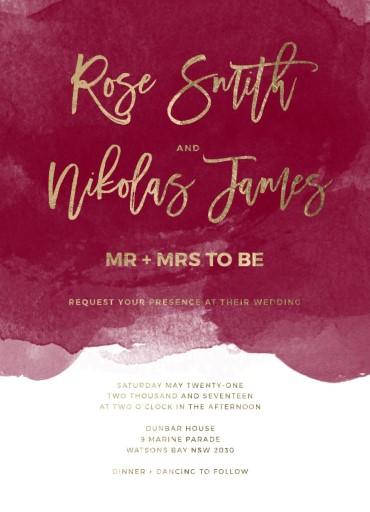 Be Our Guest - Wedding Invitations