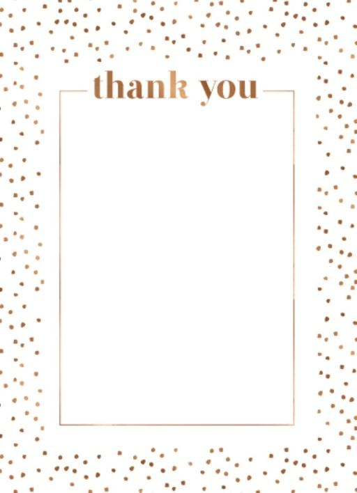 Minimalist Spot - Thank You Card