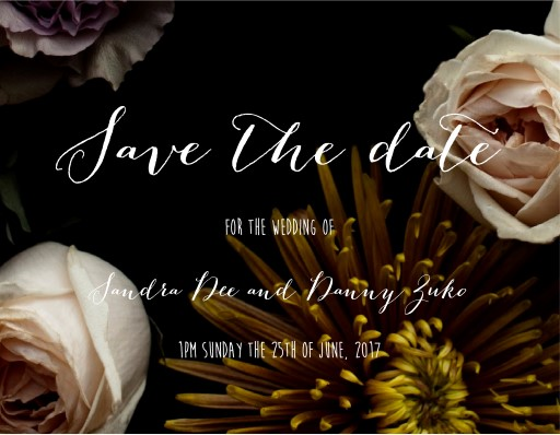Bouquet - Save The Date