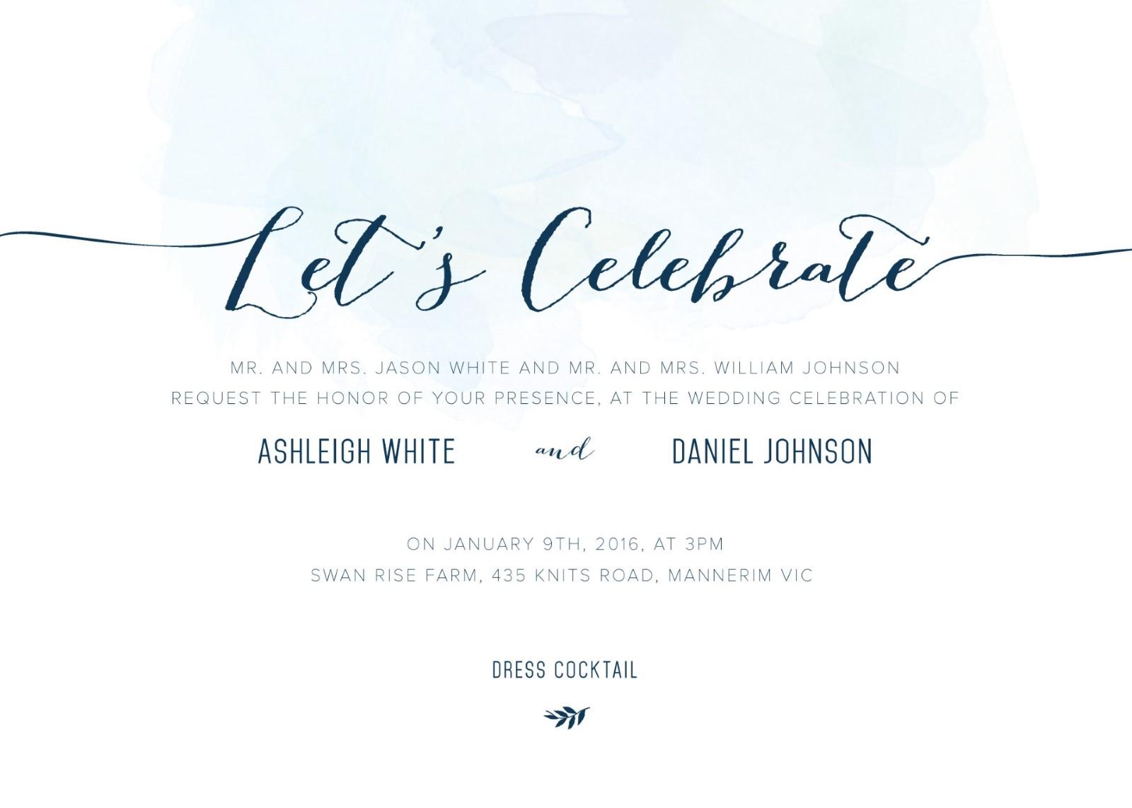 Clouds digital printing wedding invitations - Celebrating home designer login ...