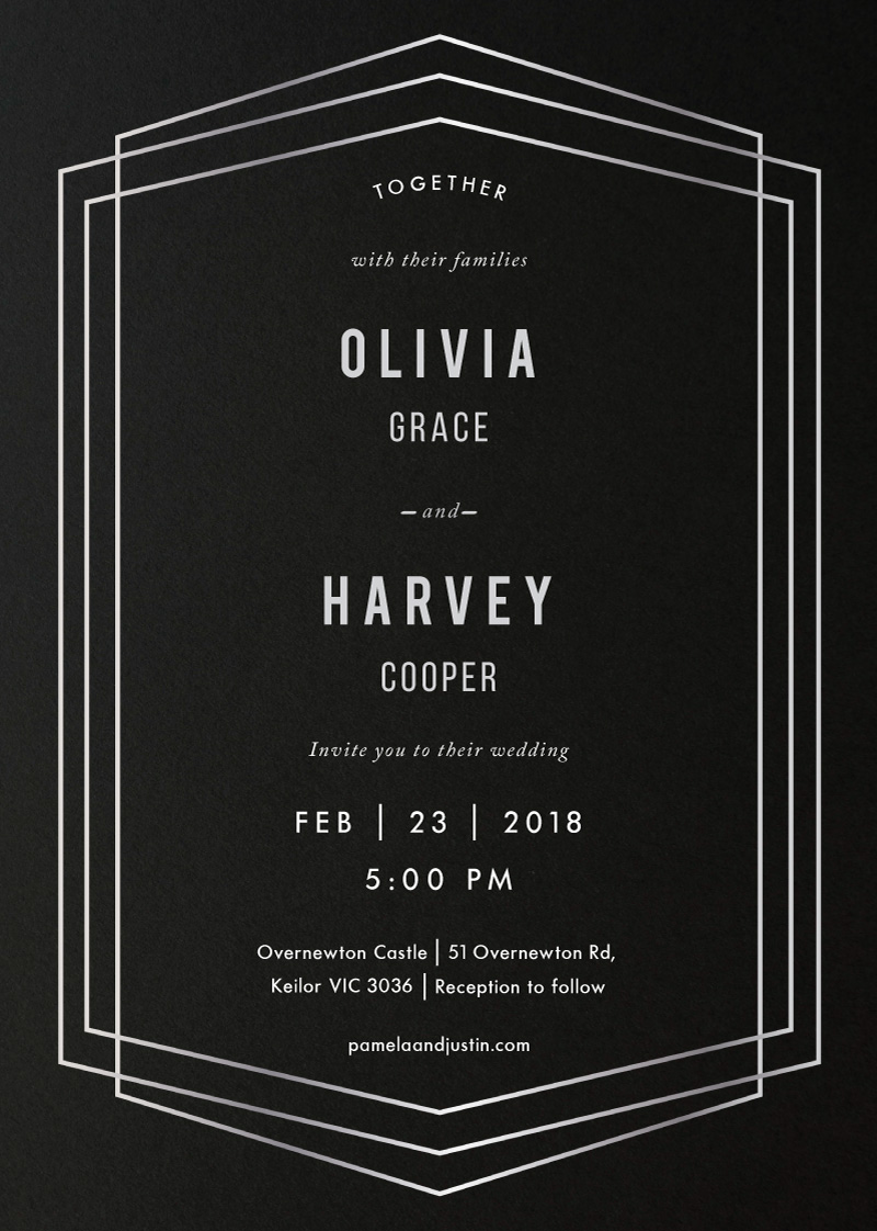 Evo - Wedding Invitations