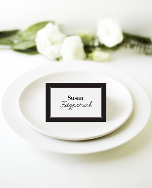 Timeless - Place Card