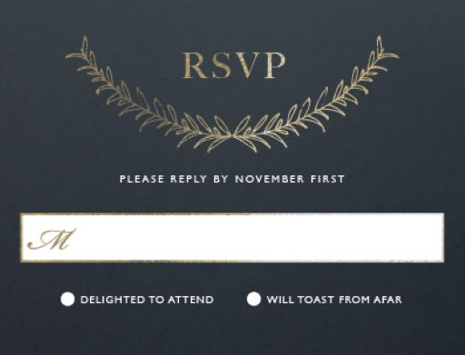 Forever Framed - RSVP Cards