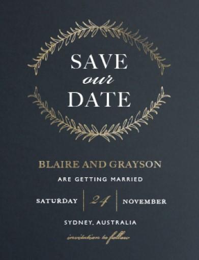 Forever Framed - Save The Date