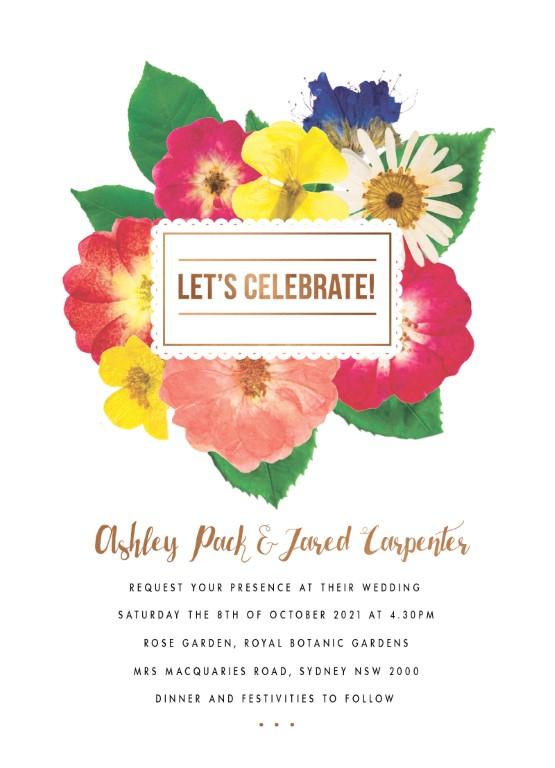 Spring Collection - Invitation