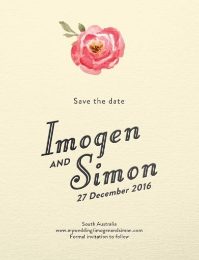 Love Me Tender - Save The Date