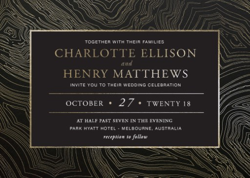 Malachite - Wedding Invitations