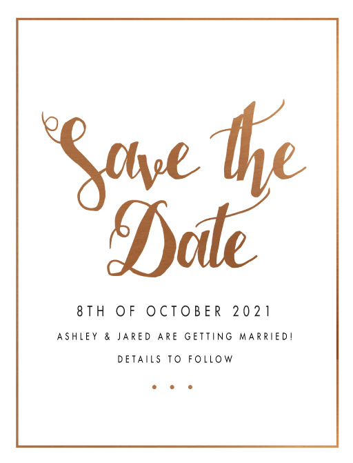 save the date invitations cards designs by creatives printed