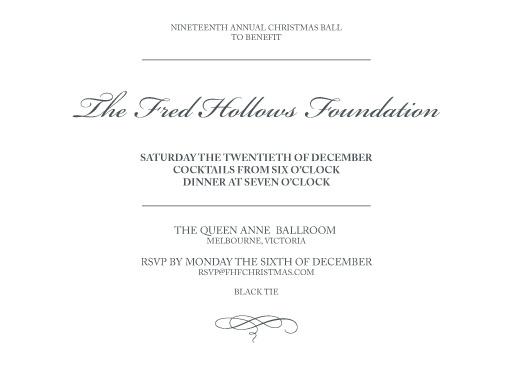 The Classic LP - corporate event invitations