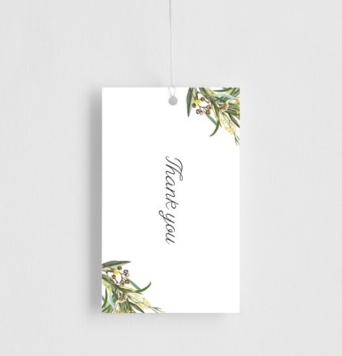 A Bouquet - gift tags