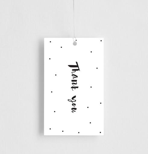 Dots - Gift Tag